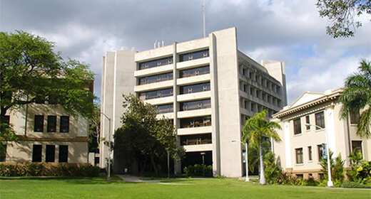 Saunders Hall, University of Hawaiʻi at Mānoa