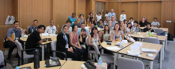 Hiroshima and Peace students, August 2018